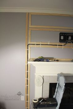 Image result for what do you do with set top box if tv over fireplace