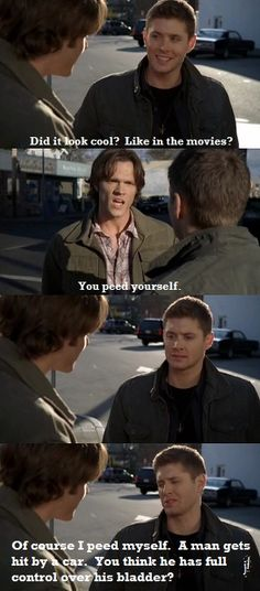 poor dean died a hundred times! and poor sammy, he had to live through it & remember it