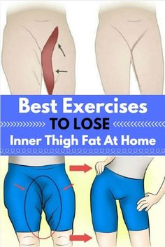 Best Exercises to Lose Inner Thigh Fat at Home !
