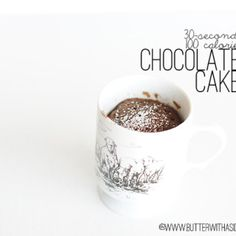 100 CALORIE CHOCOLATE CAKE IN 30-SECONDS!