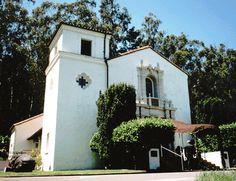 Presidio Chapel, San Francisco - where we were married