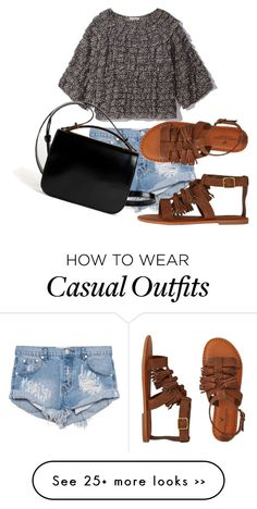 """""""outfit casual"""" by abbygirly on Polyvore featuring One Teaspoon, American Eagle Outfitters and Givenchy"""