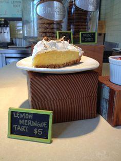 Lemon meringue tart from Tender Greens.  http://www.tendergreensfood.com/