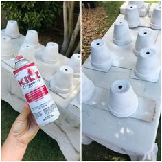 clay pots Easy tutorial for priming and painting terra cotta pots Clay Pot Projects, Clay Pot Crafts, Diy Crafts, Garden Crafts, Garden Ideas, Diy Projects, Flower Pot People, Clay Pot People, Painted Clay Pots