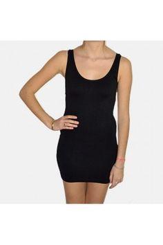Fond de robe court Brix Sin noir de chez B.Young