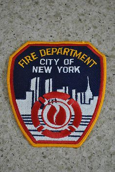 City of New York Fire Department Twin Towers Patch
