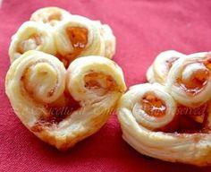 Sfogliatine alla marmellata ricetta per San Valentino