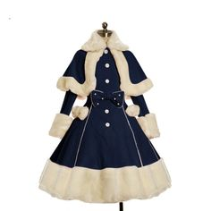 Kawaii Lolita Fake Fur Get dressed Go well with with Scarf on Storenvy