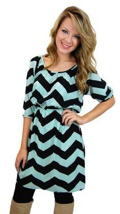 Chevron dress! loveeee!
