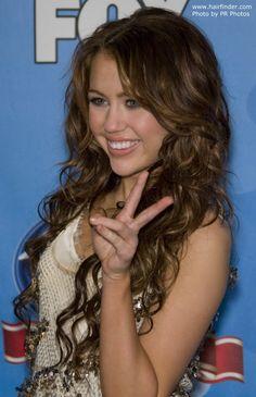 Long hair Miley