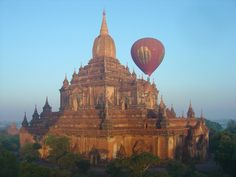 Hot Air Balloon, Bagan