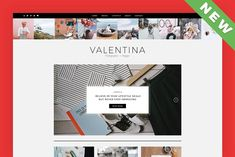 Valentina - A WordPress Blog Theme by DannyWP on @creativemarket