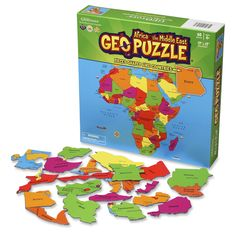 GEO Puzzle Africa and the Middle East - GeoToys