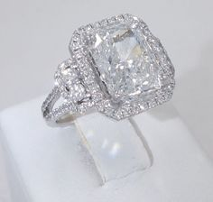 These Unique Diamond engagement rings are beautiful proposal from the many she loves. For diamond engagement rings have a look through our engagement rings Radiant Cut Engagement Rings, Dream Engagement Rings, Engagement Ring Cuts, Solitaire Engagement, Solitaire Rings, Moissanite Rings, Band Rings, Wedding Engagement, Radiant Cut Diamond