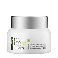 Formulated with 80% tea tree extract, this water-free cream from Korea is meant to soothe and hydrate irritated skin. It contains sea buckthorn extract and centella Asiatica, a medicinal plant.  LJH Tea Tree 80 Cream ($38)