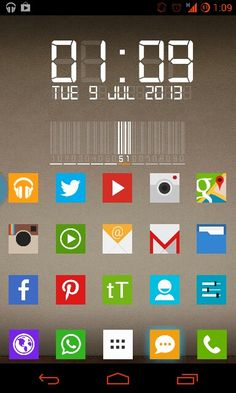 18 Best Android Themes with Zooper, UCCW, Buzz and Kustom Live