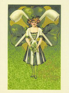 vintage st patricks day cards | Vintage Reprint St. Patrick's Day Postcard | Flickr - Photo Sharing!