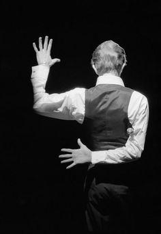 la espalda de David Bowie!