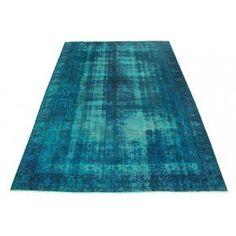 Vintage Teppich Türkis in 410x280cm
