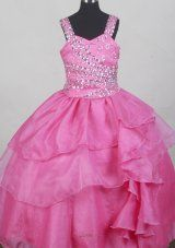 Buy attractive straps neckline youth pageant dresses with beading in hot pink from beautiful little girl dresses collection, straps neckline ball gowns pageant dress in color,cheap floor length lace up back pageant dress and for pageant birthday party . Toddler Pageant Dresses, Beauty Pageant Dresses, Little Girl Pageant Dresses, Toddler Flower Girl Dresses, Pageant Wear, Flower Girl Gown, Wedding Flower Girl Dresses, Quinceanera Dresses, Ball Dresses