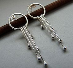 Sterling Silver Earrings SD1 by Kailajewellery on Etsy