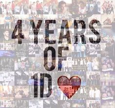 WOW, 4 years!!!! this is insane. you guys have been the best fans these 4 years, you have our backs and we have your's. Remember we'll always be your boys and I hope you'll always be our girls ♥