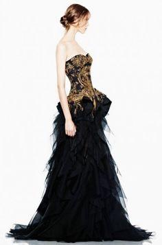 Dahlia Wolf - could be a nice mockingjay costume dress