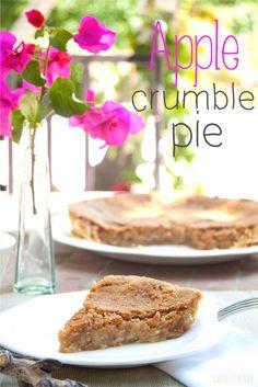 SusiMiu   Apple Crumble Pie ( o Tarta crujiente de Manzana)