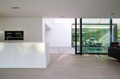 be architecten minimalist pool and kitchen Divider, Modern, Kitchen, Room, House, Image, Furniture, Home Decor, Blue Prints