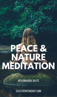Peaceful zen meditation with binaural beats and nature sounds #meditation #binaural #witch #witchcraft #pagan #wicca #youtube Guided Meditation For Anxiety, Meditation Crystals, Meditation For Beginners, Meditation Benefits, Meditation Quotes, Meditation Techniques, Chakra Meditation, Mindfulness Meditation, Wicca