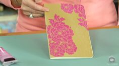 Heidi Swapp's new screen printing kits, available at Michael's.
