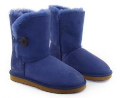 Deep Cobalt Bailey Button UGG Boots