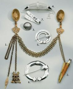 Jewelry replicas for the Karjalan dress by Kalevala Koru, Finland.