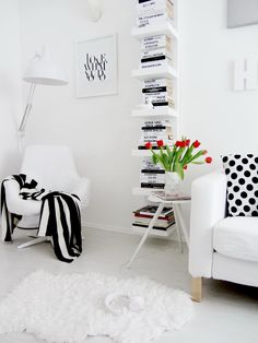 Love the idea of these book shelves...room, office, living room? Too many options