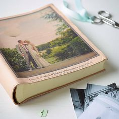 personalised leather vintage photo album by atlas & i | notonthehighstreet.com
