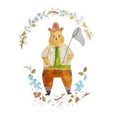 #bear #sketchbook #watercolor #painting #doodling