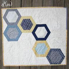 Heximetry quilt