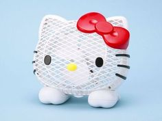 Hello kitty desk fan