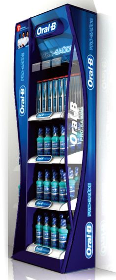 Point of Purchase Design | POP Design | POS Design | Health & Beauty POP | oral-b - chão 02 | MyFolio
