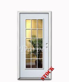 6 Panel Steel Exterior Door 6-8 | Darpet Interior Doors for ...