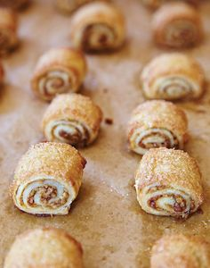 Recipe of the week: Brown Sugar and Cinnamon Rugelach Holiday Cookie Recipes, Holiday Cookies, Holiday Baking, Holiday Treats, Pastry Recipes, Dessert Recipes, Cooking Recipes, Desserts, Dessert Ideas
