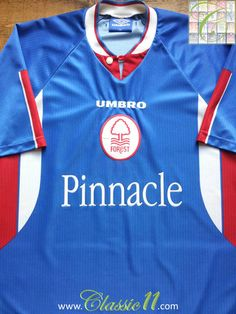 Relive Nottingham Forest s 1997 1998 season with this vintage Umbro 3rd kit  football shirt. b00c007261e