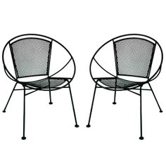 Salterini Patio Set 1950s Estate Find Round Table 4 Chairs