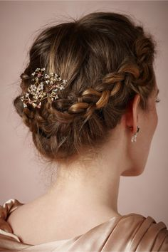 Playing with hair, pretty hairstyles, wedding hairstyles, messy hairstyles, Bride Hairstyles, Messy Hairstyles, Pretty Hairstyles, Medium Hairstyles, Bridesmaid Hair Updo, Playing With Hair, Hair Dos, Hair Inspiration, Bridesmaid Inspiration