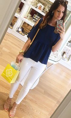 #spring #outfits  One More Day Until Spring Break! I Think This Teacher Might Be Even More Excited Than The Kiddos!  Ready To Live In Cold Shoulder Tops All Spring & Summer Long!