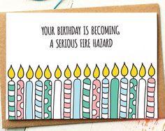 Funny Birthday Card Level Up Gamer Birthday by FinchandtheFallow