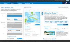 Celebrity Cruises Pitch by Damian Claassens, via Behance