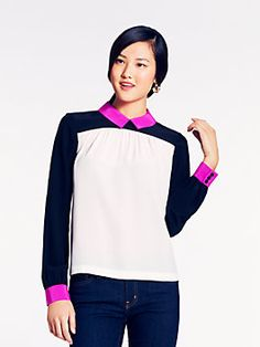 Kate Spade | Shelley Top the IT top need in my closet