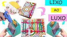 DIY -  6 Ideias com Material Reciclável -  Lixo ao Luxo ft Ursula Andress