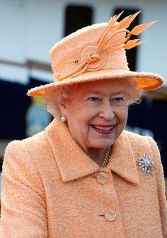Queen Elizabeth II Visits North East As Part Of Her Diamond Jubilee Tour